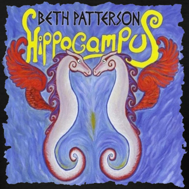 Beth Patterson - Hippocampus T-Shirt  (men's)