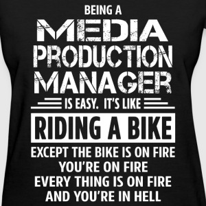 Media Production Manager - Women's T-Shirt