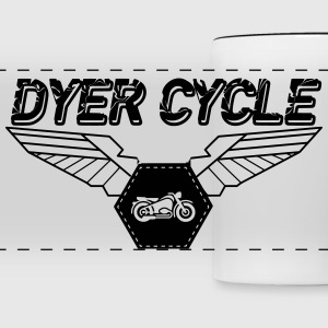 Dyer Cycle Wings Logo - Panoramic Mug