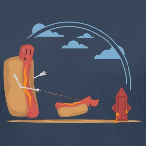 Hotdog! Long Sleeve Shirts - Women's Premium Long Sleeve T-Shirt