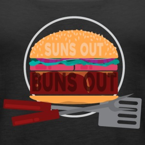 Suns Out Buns Out! Tanks - Women's Premium Tank Top