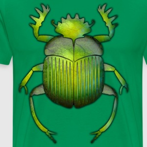 Egyptian Scarab 06 - Men's Premium T-Shirt