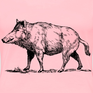 Boar - Women's Premium T-Shirt