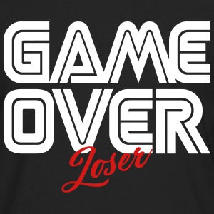 Game Over Loser Long Sleeve Shirts - Men's Premium Long Sleeve T-Shirt
