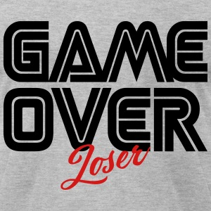 Game Over Loser T-Shirts - Men's T-Shirt by American Apparel