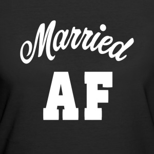 Married AF Funny Shirt - Women's 50/50 T-Shirt