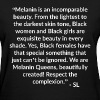 Melanin Quotes T shirt by Stephanie Lahart.  - Women's T-Shirt
