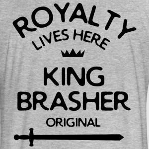 Royalty Lives Here - Fitted Cotton/Poly T-Shirt by Next Level