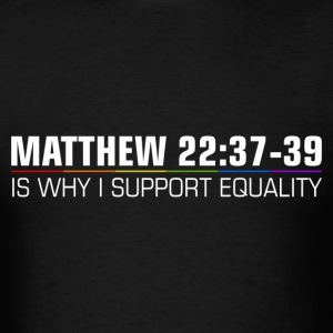 Christians for Marriage Equality - Men's T-Shirt