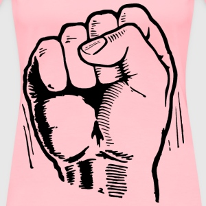 Power Fist - Women's Premium T-Shirt