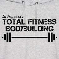 Design ~ Total Fitness Bodybuilding Barbell Hoodie