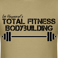 Design ~ Total Fitness Bodybuilding Barbell T-Shirt