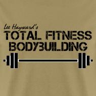 Design ~ Total Fitness Bodybuilding Barbell T-Shirt