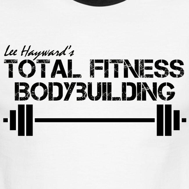 Total Fitness Bodybuilding Barbell Ringer T-Shirt
