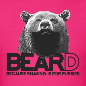 Bear and beard T-Shirts - Men's T-Shirt