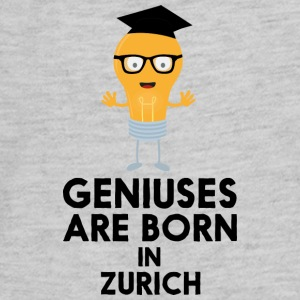 Geniuses are born in ZURICH Sj26a Kids' Shirts - Kids' Premium Long Sleeve T-Shirt