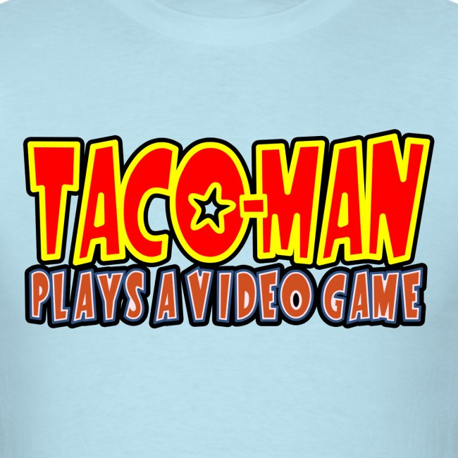 Taco-Man Plays Logo