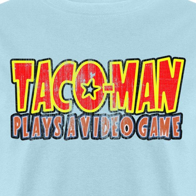 Taco-Man Plays Logo (FADED IMAGE)