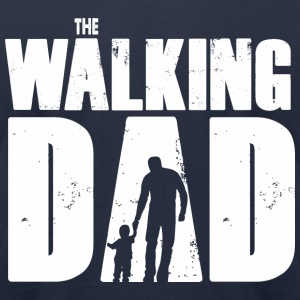 WALKING DAD V1 - Men's T-Shirt by American Apparel