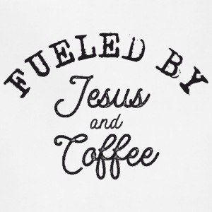 Fueled by Jesus and Coffe Aprons - Adjustable Apron