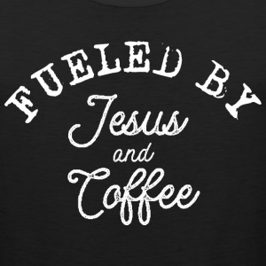Fueled by Jesus and Coffe Sportswear - Men's Premium Tank