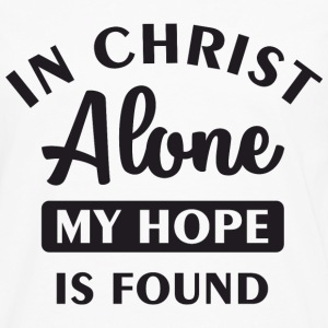 In Christ alone Long Sleeve Shirts - Men's Premium Long Sleeve T-Shirt