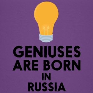Geniuses are born in RUSSIA S4sxb Baby & Toddler Shirts - Toddler Premium T-Shirt