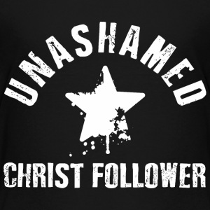 Unashamed Christ Follower - Kids' Premium T-Shirt