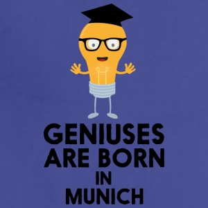 Geniuses are born in MUNICH S3fwg Aprons - Adjustable Apron