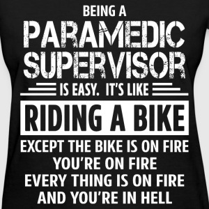 Paramedic Supervisor - Women's T-Shirt