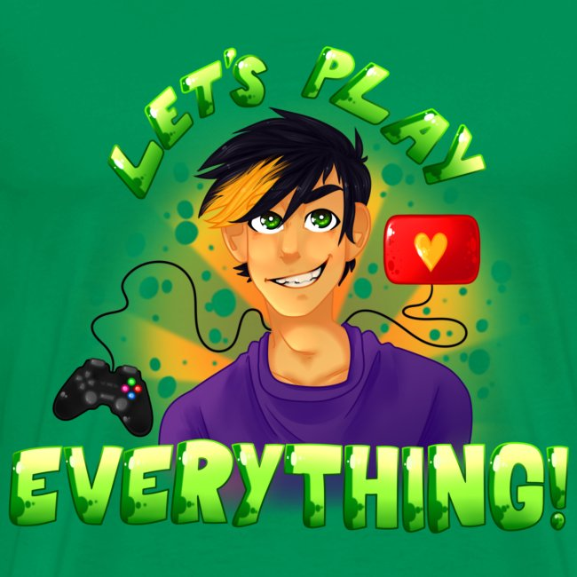 Let's Play Everything - Men's T-Shirt