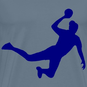 Sihouette Handball 11 - Men's Premium T-Shirt