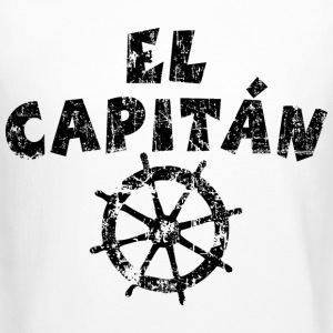 El Capitán Wheel Vintage/Black Long Sleeve Shirts - Crewneck Sweatshirt