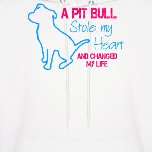 A Pitbull Stole My Heart - Men's Hoodie
