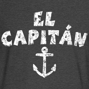 El Capitán Anchor Vintage/White Long Sleeve Shirts - Men's Long Sleeve T-Shirt