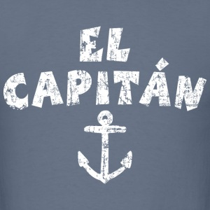 El Capitán Anchor Vintage/White T-Shirts - Men's T-Shirt