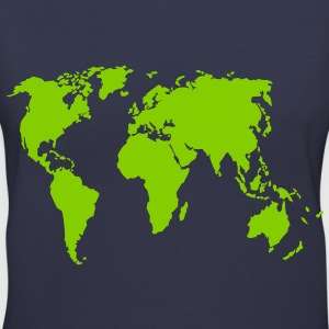 Earth T-Shirts - Women's V-Neck T-Shirt