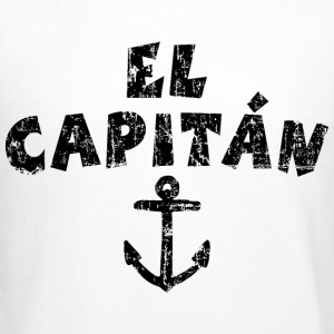 El Capitán Anchor Vintage/Black Long Sleeve Shirts - Crewneck Sweatshirt