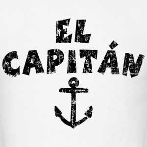 El Capitán Anchor Vintage/Black T-Shirts - Men's T-Shirt