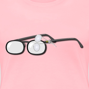 Loupe Glasses - Women's Premium T-Shirt