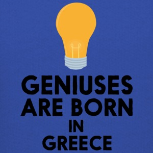Geniuses are born in GREECE S8f9y Sweatshirts - Kids' Premium Hoodie