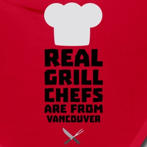 Real Grill Chefs are from Vancouver S33ai Caps - Bandana