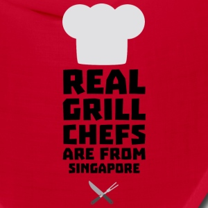 Real Grill Chefs are from Singapore Sb2oj Caps - Bandana