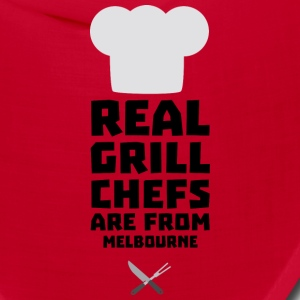 Real Grill Chefs are from Melbourne Swc41 Caps - Bandana