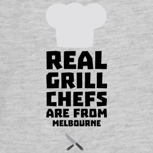 Real Grill Chefs are from Melbourne Swc41 Kids' Shirts - Kids' Premium Long Sleeve T-Shirt