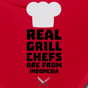 Real Grill Chefs are from Indonesia Sz24t Caps - Bandana