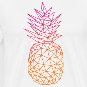 Geometric Pineapple - Men's Premium T-Shirt