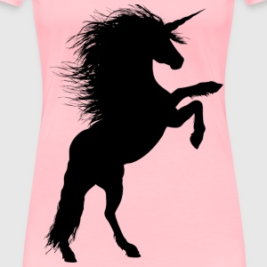 Rearing Unicorn 2 - Women's Premium T-Shirt