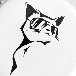 Cool Cat - Large Buttons