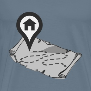 Home Map - Men's Premium T-Shirt
